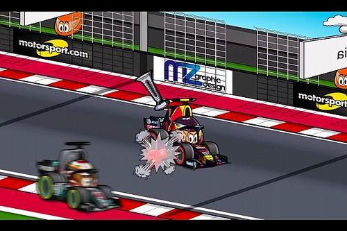 Vídeo: el GP de Estados unidos de F1, según MiniDrivers