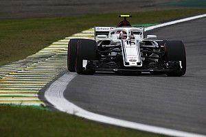 """Sauber brille, Leclerc sort un """"tour surprise"""""""