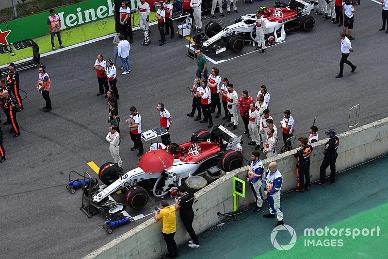 Leclerc 3.5 millió dolláros nagydíja, Ericsson összetört