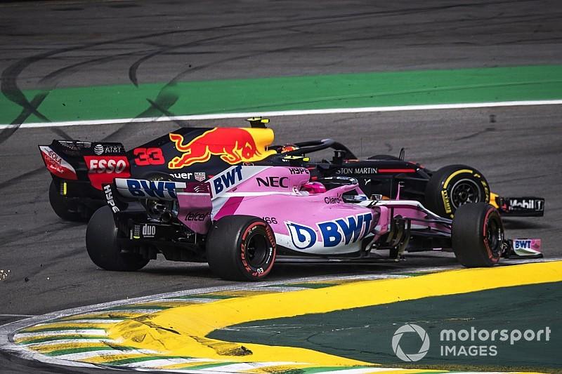 """Force India : """"Verstappen n'a laissé aucune place à Ocon"""""""
