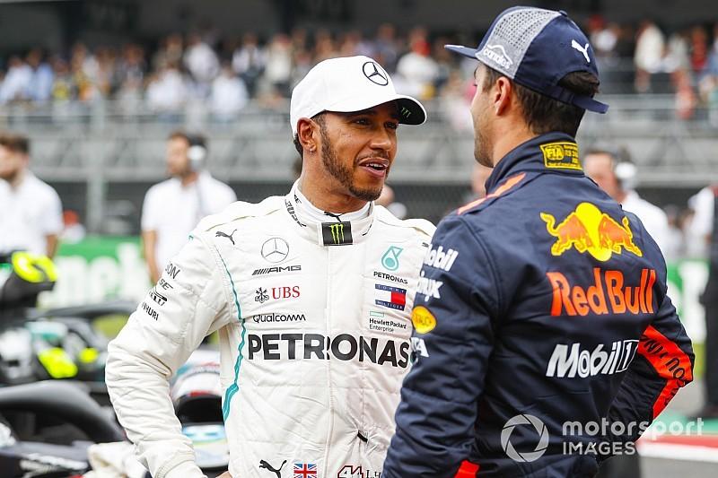 Ricciardoimpressionné par la façon dont Hamilton gère sa carrière