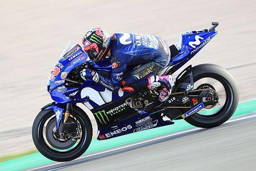 Vinales keluhkan ukuran motor Yamaha