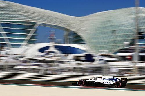 Volledige uitslag eerste training Grand Prix van Abu Dhabi Formule 1