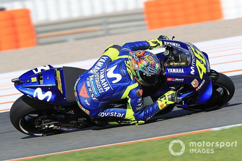Pour Rossi, le rythme de la Yamaha reste trop lent