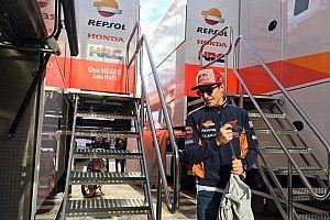 Prioritaskan kondisi fisik, Marquez tak maksimal