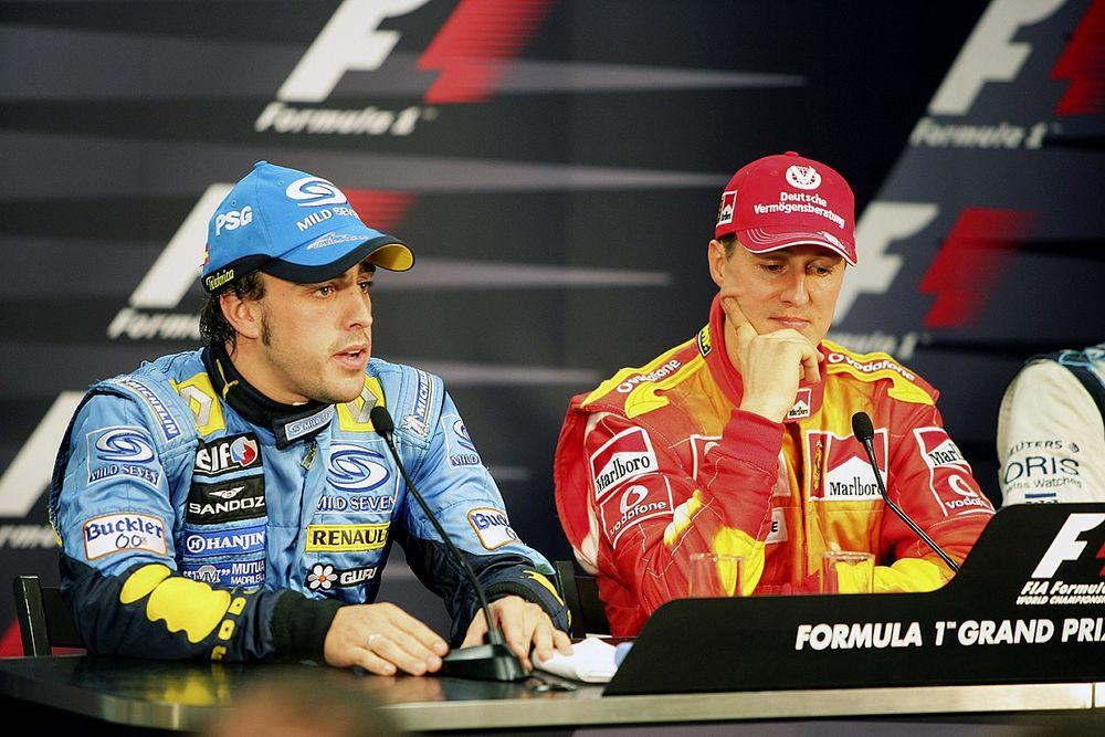 """Alonso: """"Michael'a diğer pilotlardan farklı bir şekilde saygı duymalısınız"""""""