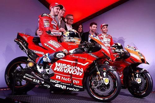 MotoGP: tutte le presentazioni dei team, apre le danze la Ducati