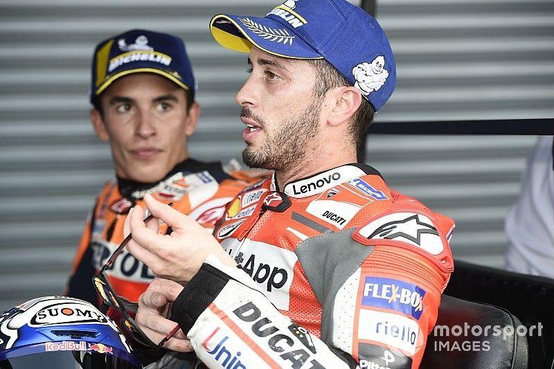 "Para Dovizioso sería ""estúpido"" que Ducati no considerara contratar a Márquez"