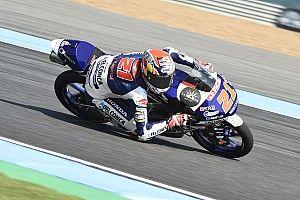 Moto3, Buriram: Di Giannantonio guida la tripletta italiana, Bastianini e Bezzecchi giù all'ultima curva