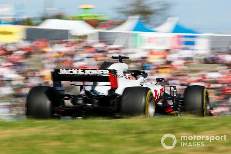 Haas kreeg door brandje geen telemetrie van Grosjean