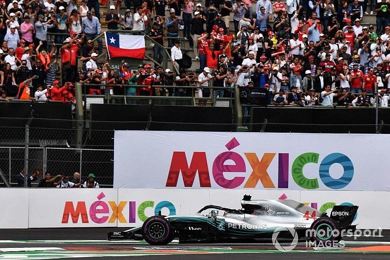 رسميًا: جولة المكسيك تضمن بقاءها في روزنامة الفورمولا واحد حتّى 2022