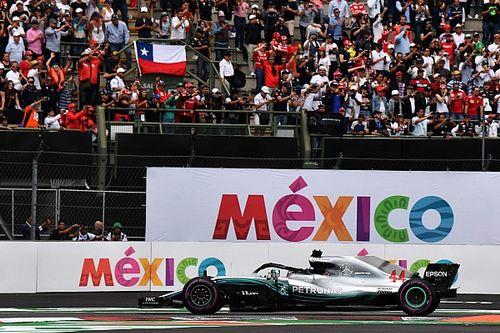 Meksiko resmi helat Formula 1 sampai 2022