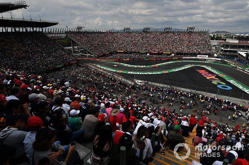 Weersverwachting voor de F1 Grand Prix van Mexico