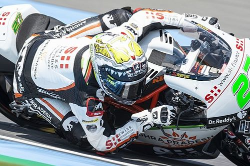 Moto2日本FP2|セッション後半は雨。レクオナ最速。長島7番手