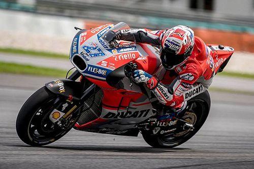 Ducati-Testpilot Casey Stoner schimpft auf Sepang-Asphalt