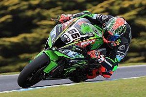 Kawasaki: Rea und Sykes stürzen beim Testauftakt