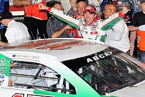 Michael Self charges to ARCA win on late restart at Chicagoland