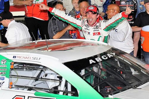 Michael Self escapes carnage, wins ARCA season-opener at Daytona