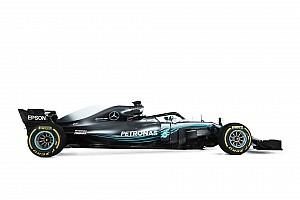 Галерея: студійні світлини боліда Ф1 Mercedes 2018 року
