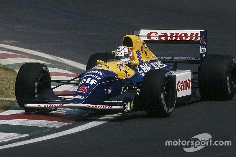 A Williams F1-es autói és festései 1978 óta