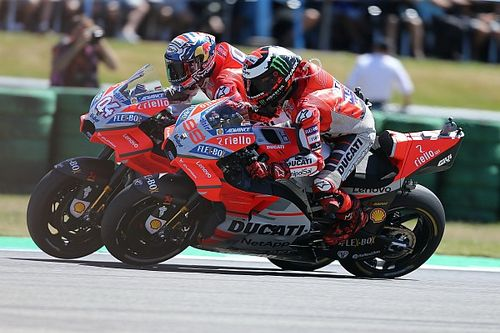 "Dovizioso: ""¿Lorenzo? En Ducati manda Dall'Igna"""