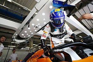 Alonso start dari pit lane usai ganti sayap depan