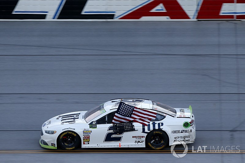 Brad Keselowski prevails in wild finish at Talladega