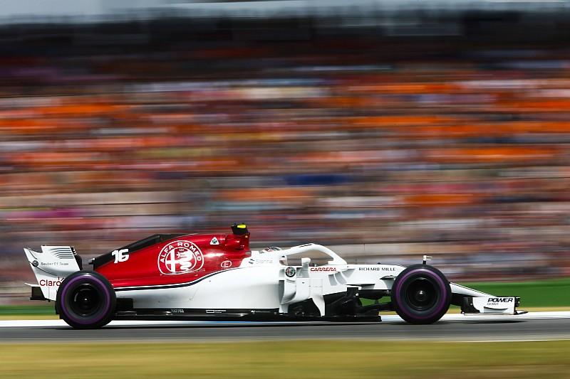 Fotogallery: gli scatti più belli dell'Alfa Romeo Sauber nel Gran Premio di Germania