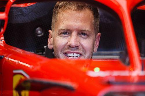 Vettel no tiene preocupación de las palabras de Hamilton o Mercedes