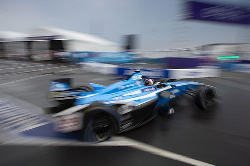 New York ePrix: Buemi on pole for finale, di Grassi shunts