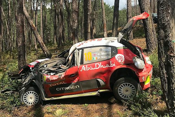 WRC Noticias Citroen cree que el diseño del auto salvó a Meeke en su accidente
