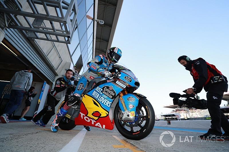 Tante squadre di Moto2 al lavoro a Le Mans per una giornata di test