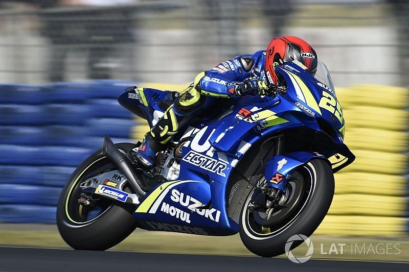 """Iannone baalt van crash: """"Had weer op podium moeten staan"""""""