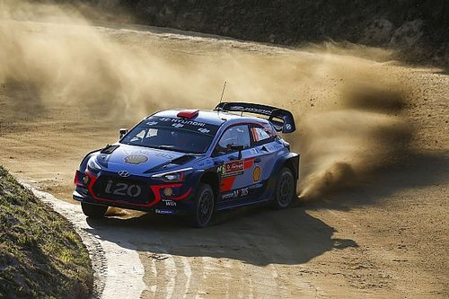 Portugal WRC: Sordo leads, drama for Toyota