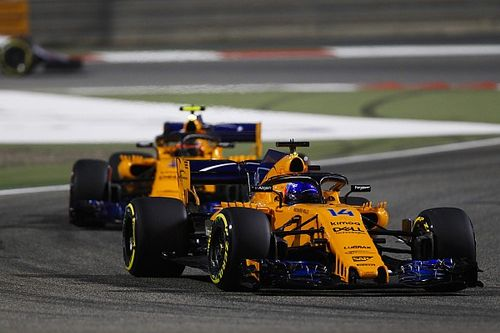 """Alonso: McLaren flattered by """"coincidence"""" Bahrain result"""
