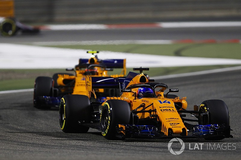 "Alonso: McLaren flattered by ""coincidence"" Bahrain result"
