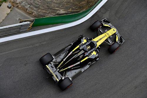 Renault: Hulkenberg'in 2018'deki tek hatası Bakü kazasıydı