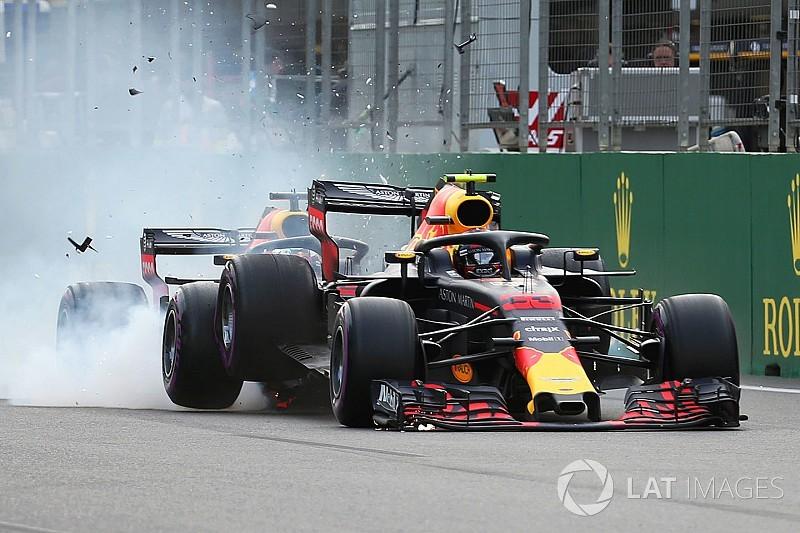 Fotostrecke: Der Red-Bull-Crash in Baku