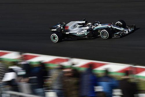 """Lewis Hamilton: Barcelona-Test für Mercedes """"richtig positiv"""""""