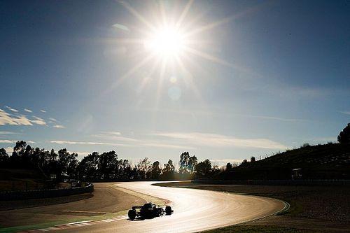 Galería: el atardecer de la pretemporada de F1 en el Circuit de Barcelona