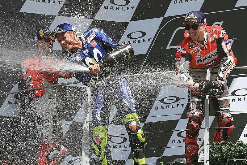 Rossi über Lorenzos Honda-Wechsel: