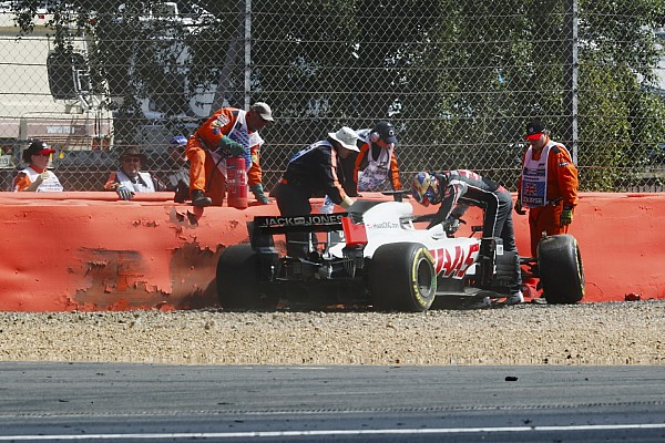 Formula 1 Silverstone DRS crashes were