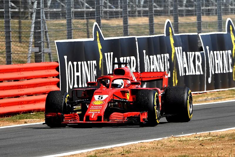 A Ferrarik ebben is vitték a prímet a Brit Nagydíjon