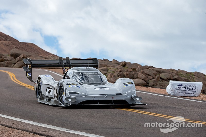 The electrifying story of VW's Pikes Peak assault