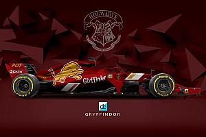 F1 Top List Así serían los coches de F1 en el colegio Hogwarts de Harry Potter