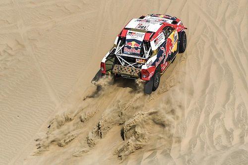 Аль-Аттия выиграл третий этап «Дакара», Петерансель вышел в лидеры