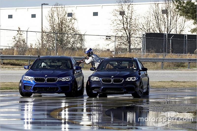 "BMW新型M5、""8時間ノン・ストップドリフト""で世界記録を樹立"
