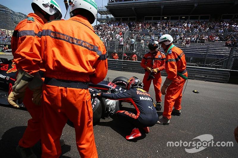 """Horner califica de """"brutal"""" la situación de Verstappen en calificación"""