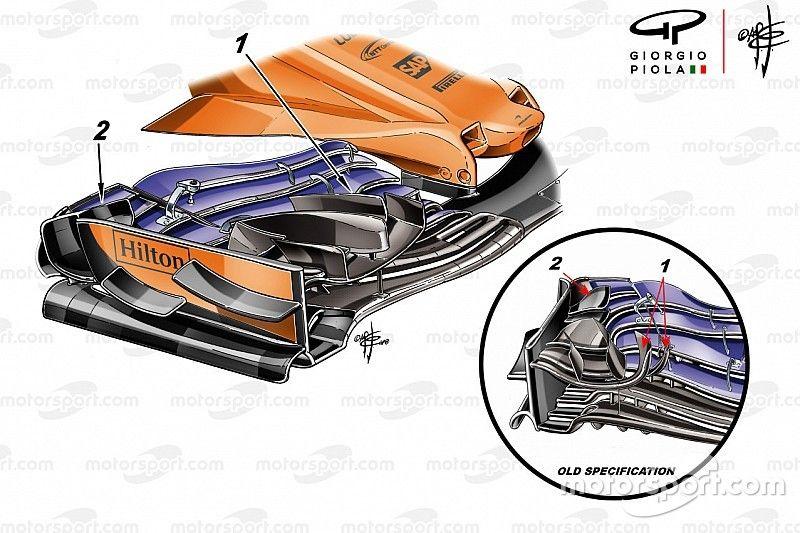 Tech: De nieuwe voorvleugel die McLaren in Monaco niet durfde in te zetten