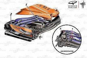 Технический брифинг: новое переднее крыло McLaren MCL33